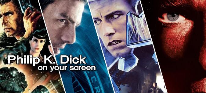 Philip K. Dick-Verfilmungen on your screen