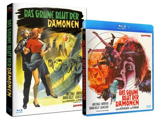 Hammer Blu-ray Reihe © Anolis Entertainment